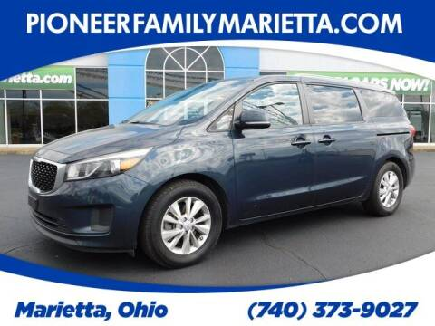 2015 Kia Sedona for sale at Pioneer Family preowned autos in Williamstown WV