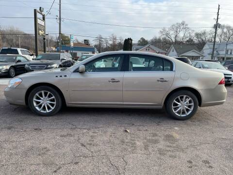 2008 Buick Lucerne for sale at RIVERSIDE AUTO SALES in Sioux City IA