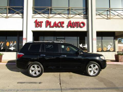 2009 Toyota Highlander for sale at First Place Auto Ctr Inc in Watauga TX