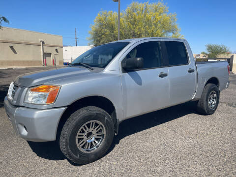 2008 Nissan Titan for sale at Tucson Auto Sales in Tucson AZ