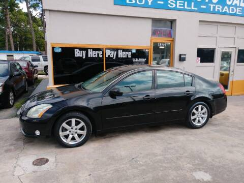 2004 Nissan Maxima for sale at QUALITY AUTO SALES OF FLORIDA in New Port Richey FL