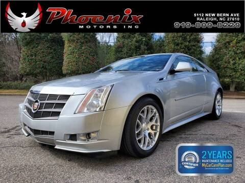 2011 Cadillac CTS for sale at Phoenix Motors Inc in Raleigh NC