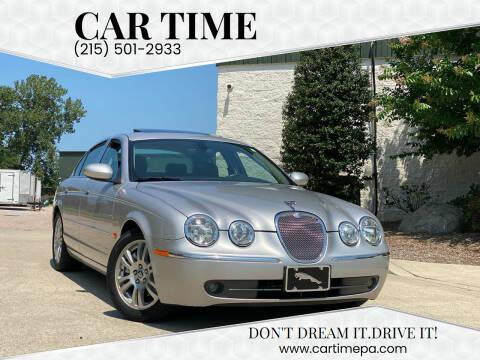 2005 Jaguar S-Type for sale at Car Time in Philadelphia PA