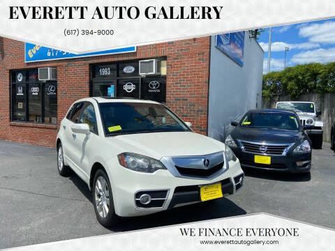 2011 Acura RDX for sale at Everett Auto Gallery in Everett MA
