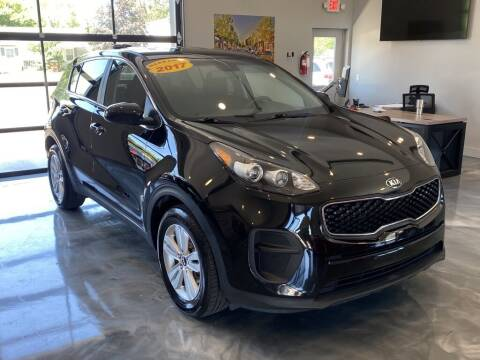 2017 Kia Sportage for sale at Crossroads Car & Truck in Milford OH