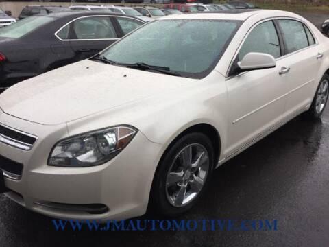 2012 Chevrolet Malibu for sale at J & M Automotive in Naugatuck CT