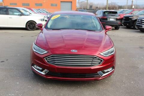 2017 Ford Fusion for sale at Road Runner Auto Sales WAYNE in Wayne MI