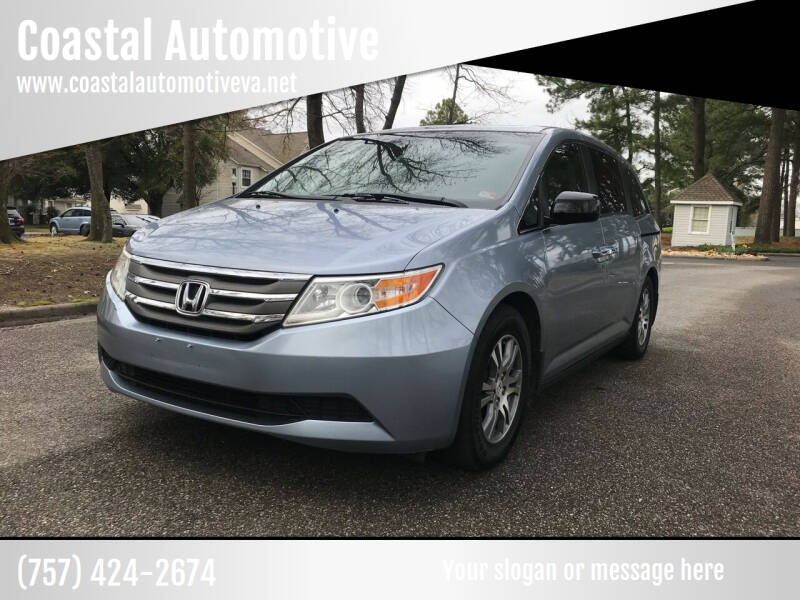 2011 Honda Odyssey for sale at Coastal Automotive in Virginia Beach VA