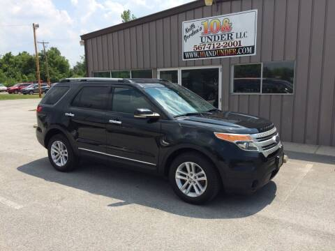 2013 Ford Explorer for sale at KEITH JORDAN'S 10 & UNDER in Lima OH