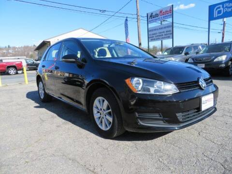 2016 Volkswagen Golf for sale at Auto Match in Waterbury CT