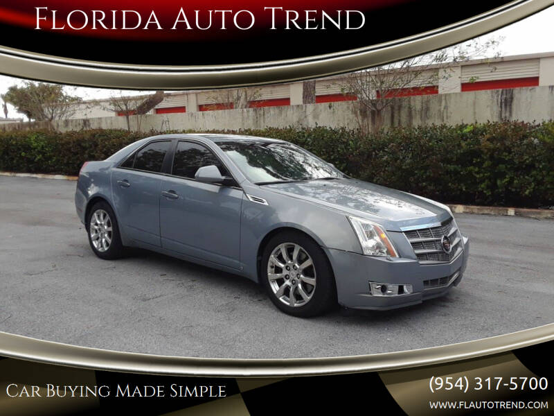 2008 Cadillac CTS for sale at Florida Auto Trend in Plantation FL