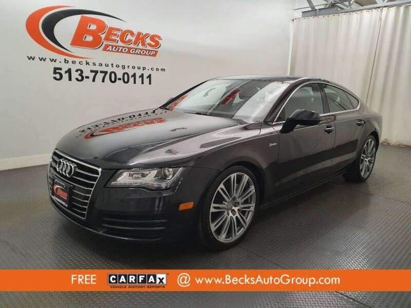 2014 Audi A7 for sale at Becks Auto Group in Mason OH