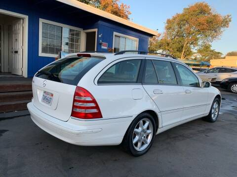 2002 Mercedes-Benz C-Class for sale at Dodi Auto Sales in Monterey CA