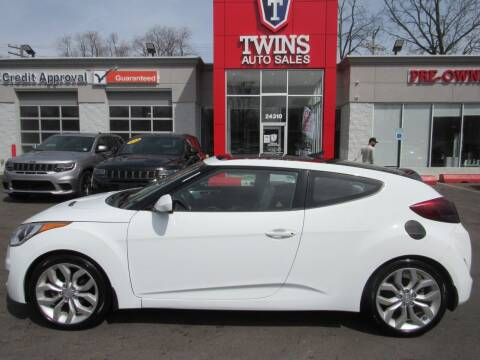 2013 Hyundai Veloster for sale at Twins Auto Sales Inc in Detroit MI
