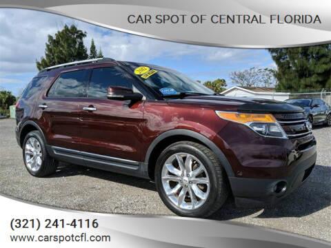 2012 Ford Explorer for sale at Car Spot Of Central Florida in Melbourne FL