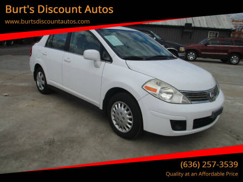 2008 Nissan Versa for sale at Burt's Discount Autos in Pacific MO