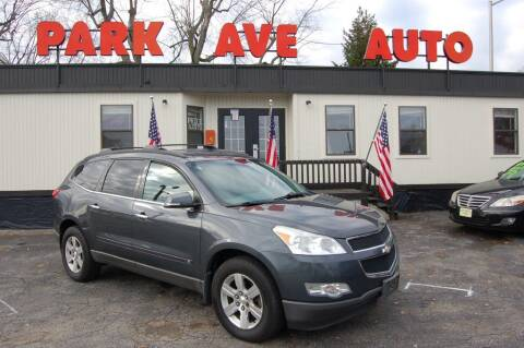 2010 Chevrolet Traverse for sale at Park Ave Auto Inc. in Worcester MA