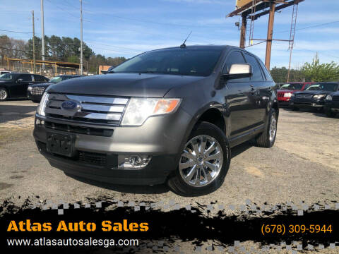 2010 Ford Edge for sale at Atlas Auto Sales in Smyrna GA
