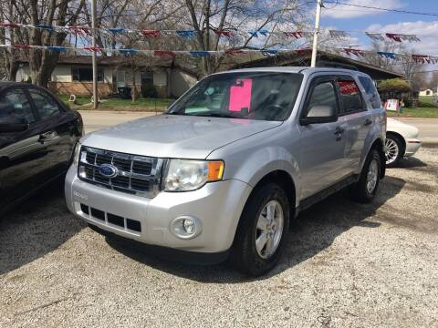 2012 Ford Escape for sale at Antique Motors in Plymouth IN