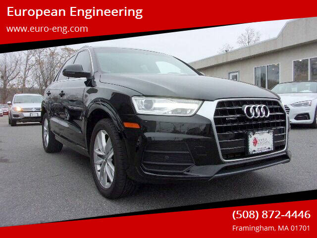 2016 Audi Q3 for sale at European Engineering in Framingham MA