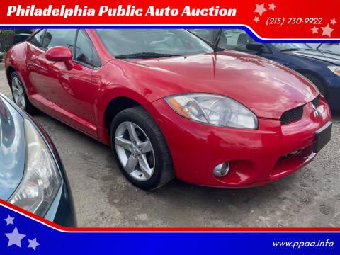 2007 Mitsubishi Eclipse for sale at Philadelphia Public Auto Auction in Philadelphia PA