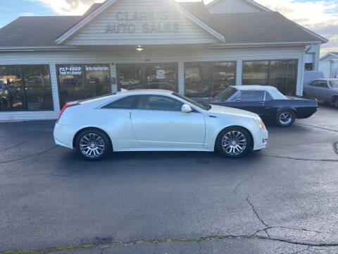 2012 Cadillac CTS for sale at Clarks Auto Sales in Middletown OH