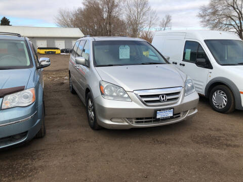 2007 Honda Odyssey for sale at BARNES AUTO SALES in Mandan ND