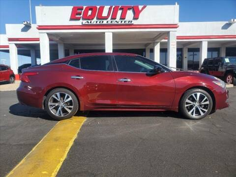 2017 Nissan Maxima for sale at EQUITY AUTO CENTER in Phoenix AZ