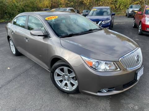 2011 Buick LaCrosse for sale at Bob Karl's Sales & Service in Troy NY
