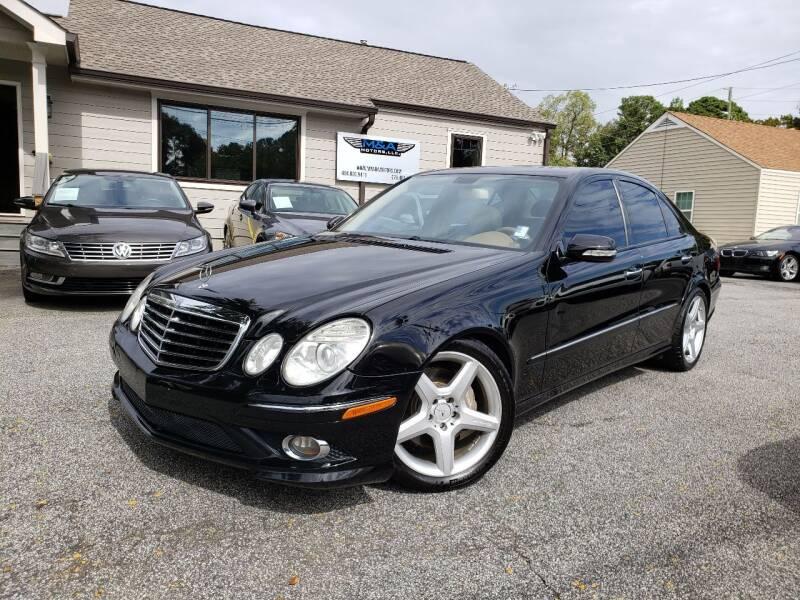 2009 Mercedes-Benz E-Class for sale at M & A Motors LLC in Marietta GA