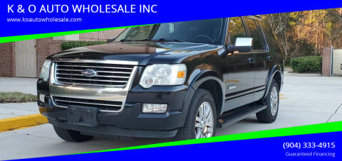 2006 Ford Explorer for sale at K & O AUTO WHOLESALE INC in Jacksonville FL