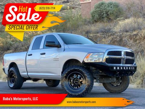 2016 RAM Ram Pickup 1500 for sale at Baba's Motorsports, LLC in Phoenix AZ