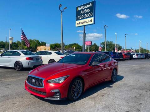 2018 Infiniti Q50 for sale at Michaels Autos in Orlando FL