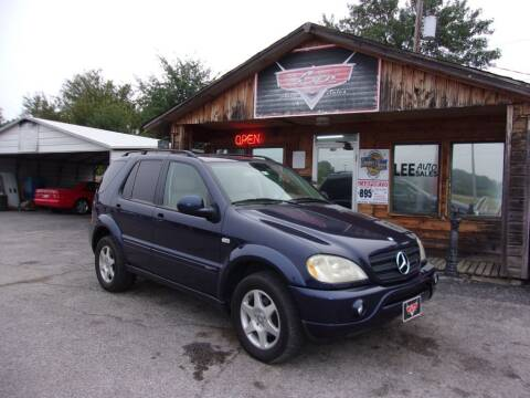 2001 Mercedes-Benz M-Class for sale at LEE AUTO SALES in McAlester OK