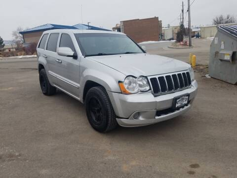 2008 Jeep Grand Cherokee for sale at BERKENKOTTER MOTORS in Brighton CO