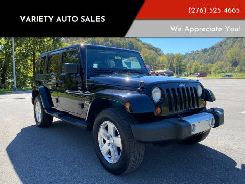 2008 Jeep Wrangler Unlimited for sale at Variety Auto Sales in Abingdon VA