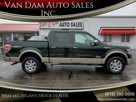 2013 Ford F-150 for sale at Van Dam Auto Sales Inc. in Holland MI
