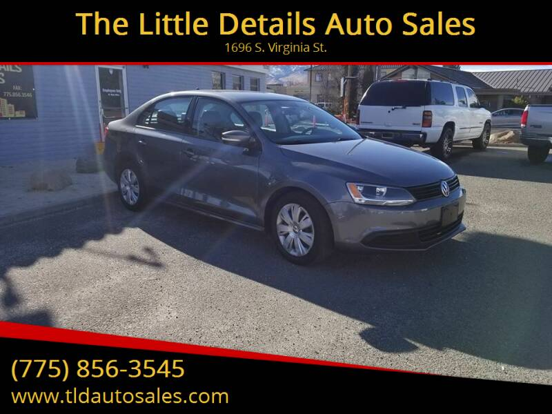 2014 Volkswagen Jetta for sale at The Little Details Auto Sales in Reno NV