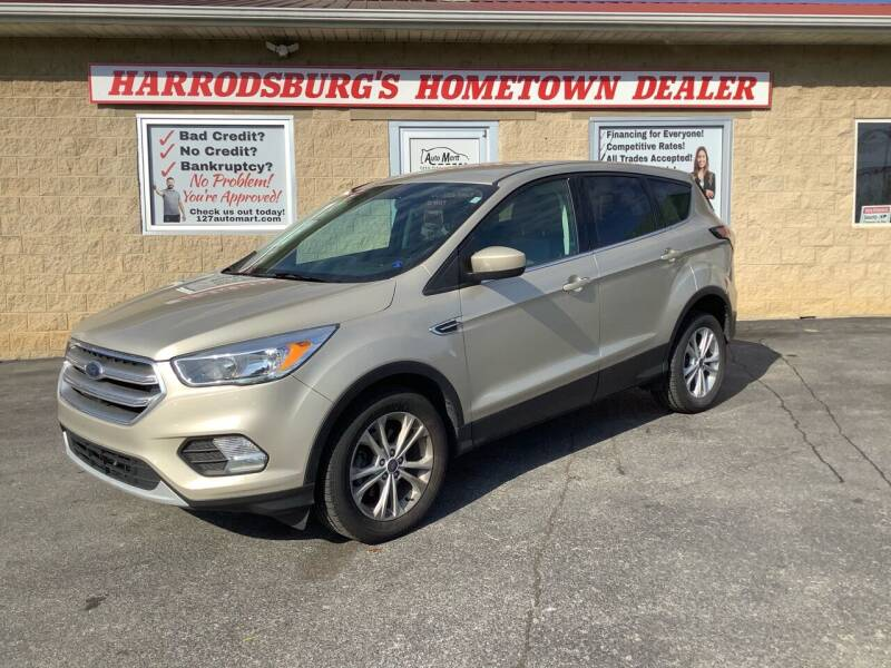 2017 Ford Escape for sale at Auto Martt, LLC in Harrodsburg KY