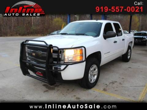 2011 Chevrolet Silverado 1500 for sale at Inline Auto Sales in Fuquay Varina NC