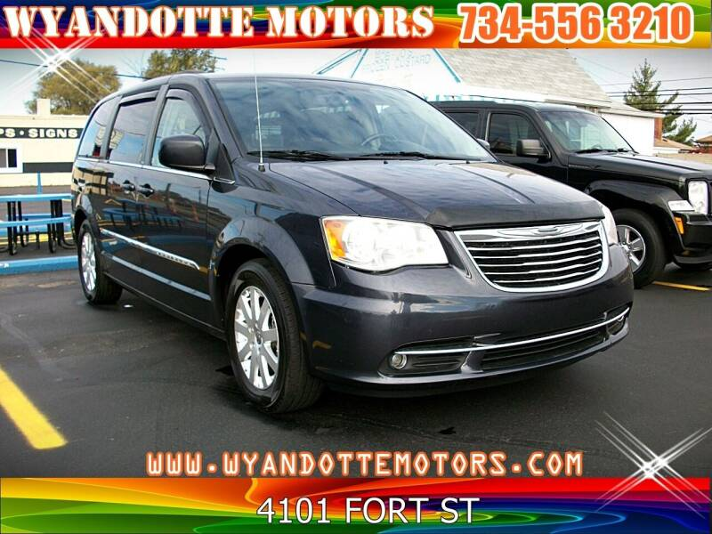2013 Chrysler Town and Country for sale at Wyandotte Motors in Wyandotte MI