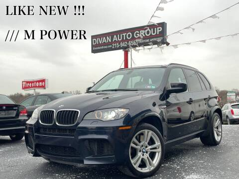 2012 BMW X5 M for sale at Divan Auto Group in Feasterville PA