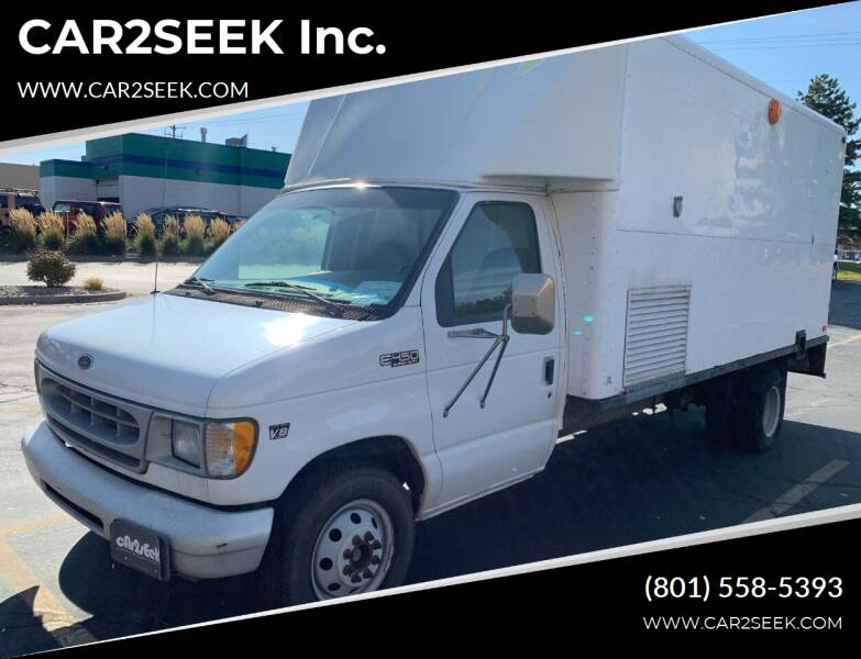 2000 Ford E-Series Chassis for sale at CAR2SEEK Inc. in Salt Lake City UT