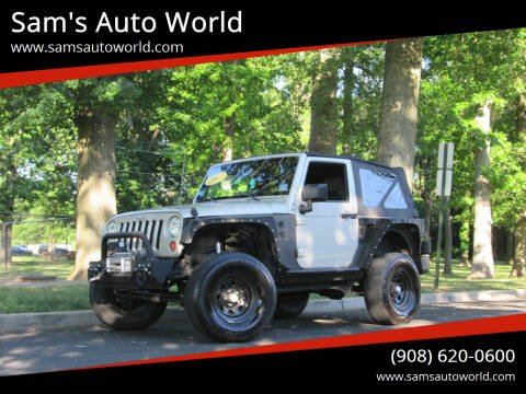 2007 Jeep Wrangler for sale at Sam's Auto World in Roselle NJ