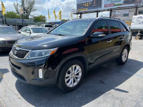 2014 Kia Sorento for sale at AUTO ALLIANCE LLC in Miami FL