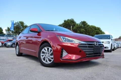 2019 Hyundai Elantra for sale at OCEAN AUTO SALES in Miami FL