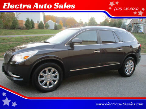 2015 Buick Enclave for sale at Electra Auto Sales in Johnston RI