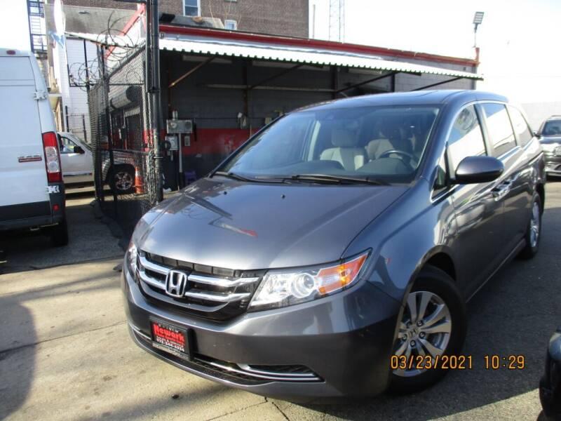 2017 Honda Odyssey for sale at Newark Auto Sports Co. in Newark NJ