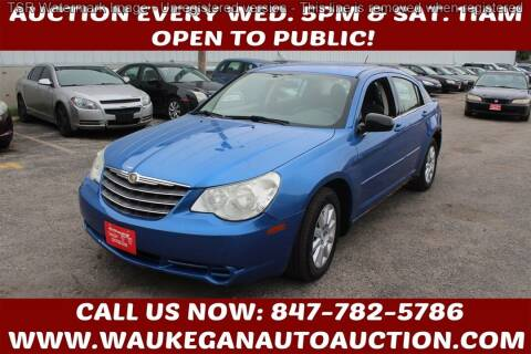 2007 Chrysler Sebring for sale at Waukegan Auto Auction in Waukegan IL