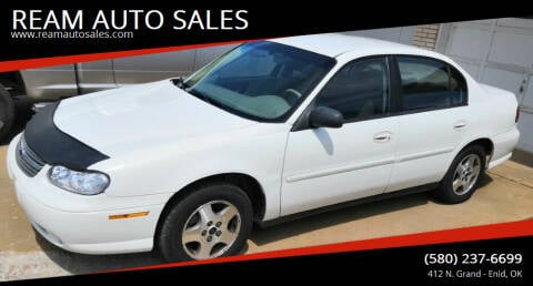2005 Chevrolet Classic for sale at REAM AUTO SALES in Enid OK